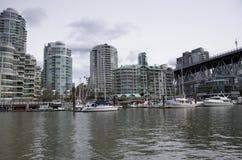 Appartamento operato che alloggia la città di Vancouver Fotografia Stock Libera da Diritti