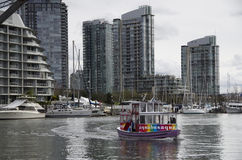 Appartamento operato che alloggia la città di Vancouver Fotografie Stock Libere da Diritti