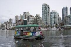 Appartamento operato che alloggia la città di Vancouver Immagini Stock Libere da Diritti