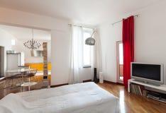 Appartamento piacevole, interno fotografia stock