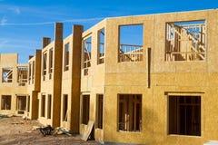 Appartamento residenziale, costruzione del condominio Fotografia Stock Libera da Diritti