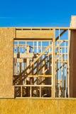 Appartamento residenziale, costruzione del condominio Immagini Stock