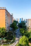 Appartamento residenziale dell'alloggiamento a Singapore Immagine Stock