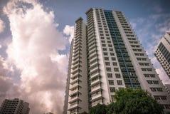 Appartamento residenziale pubblico dell'alloggio di Singapore in Bukit Panjang Immagine Stock