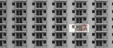 Appartamento rinnovato Fotografia Stock
