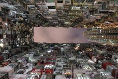 Appartamento urbano grasso dell'alloggio di Yick Hong Kong Fotografia Stock