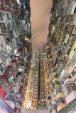 Appartamento urbano grasso dell'alloggio di Yick Hong Kong Fotografie Stock Libere da Diritti