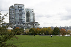 appartamento Vancouver del centro dell'alloggio Fotografia Stock