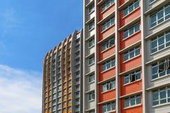 Appartamento variopinto Fotografia Stock