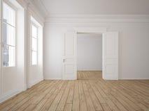 Appartamento vuoto del granaio rappresentazione 3d Immagine Stock