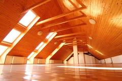 Appartamento vuoto della soffitta Fotografia Stock