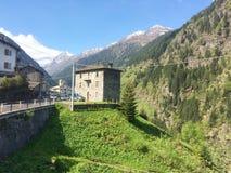 Appartement alpin Photo libre de droits