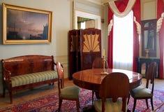 Appartement commémoratif d'Alexander Pushkin Images libres de droits