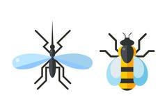 coccinelle mouche et moustique photos libres de droits image 3279768. Black Bedroom Furniture Sets. Home Design Ideas