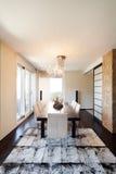 Appartement de luxe intérieur photo stock