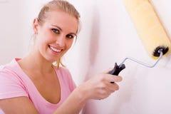 Appartement de peinture Image stock
