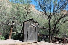 Appartement de tortilla, la petite communauté non enregistrée dans le comté de Maricopa oriental, Arizona, Etats-Unis images stock