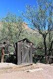 Appartement de tortilla, la petite communauté non enregistrée dans le comté de Maricopa oriental, Arizona, Etats-Unis photos libres de droits