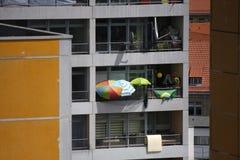 Appartement-Gebäude Lizenzfreie Stockfotografie