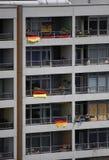 Appartement-Gebäude Stockfoto