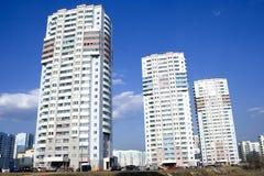 Appartement-Hochhäuser Lizenzfreie Stockfotos