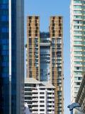 Appartement-Hochhäuser Lizenzfreies Stockfoto