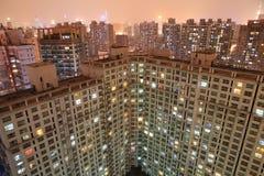 Appartement la nuit Photos libres de droits