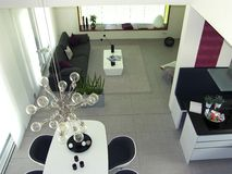 Appartement moderne Photo libre de droits