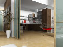 Appartement moderne Image stock