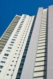 Appartement moderne Bl de centre urbain Image libre de droits