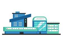 Appartement moderne Illustration plate de vecteur Style de constructivisme illustration libre de droits