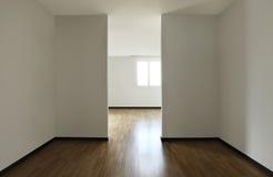 Appartement neuf, pièce vide photos libres de droits