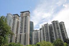 Appartement résidentiel Kuala Lumpur Malaysia photo stock