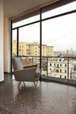 Appartement terrasse de luxe photo stock