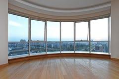 Appartement terrasse Windows Images libres de droits