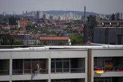 Appartementgebouwen Royalty-vrije Stock Afbeelding