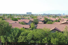 Appartementkomplex Stockbilder