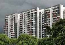 Appartements élevés Images stock
