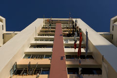Appartements élevés de logement à caractère social à Singapour Image libre de droits