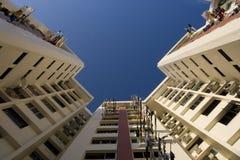 Appartements élevés de logement à caractère social à Singapour Images stock