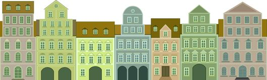 appartements illustration stock