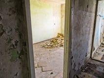 Appartements abandonnés image libre de droits