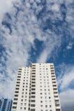 Appartements ayant beaucoup d'étages Images stock