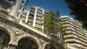 Appartements chez le Monaco, Cote D'Azur France banque de vidéos