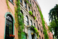 Appartements d'East Village, New York Photos stock