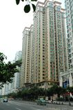 Appartements dans le ¼ de Cantonï de ¼ de guangzhouï photographie stock