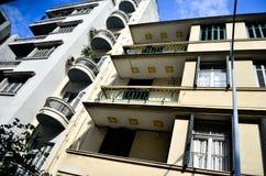 Appartements de bâtiment Photo stock