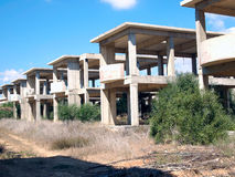 Appartements de bâtiment Images stock