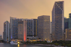 Appartements de Brickell photo stock