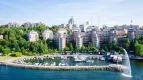 Appartements de luxe à Helsinki, Finlande Image stock
